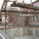 Muurhuizen-tijdens de restauratie